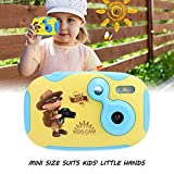 Mini Kids Digital Video Camera with Built-in Battery Gift for Children (Blue)