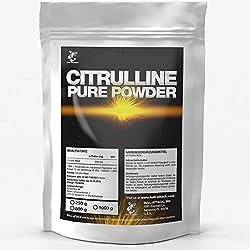 PURE CITRULLINE (250g) | Reines Citrullin Malat Pulver | Nitro + Pre-Workout Booster + Muskelaufbau | In bester Premium Qualität | zur Leistungs-Steigerung im Sport & Bodybuilding