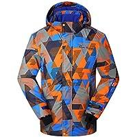 Phibee Boy's Waterproof Breathable Snowboard Ski Jacket