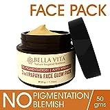 #8: Papaya Face Glow Pack, 50 g | 3 in 1 | Repair Pigmentation - Blemish - Wrinkles | Brightening | Dry/Sensitive Skin | Chemical Free | By Bella Vita Organic
