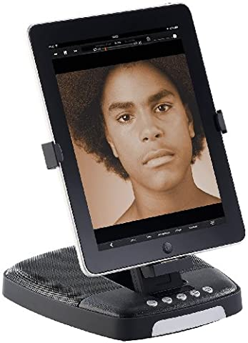 auvisio Sound-Dock: Lautsprecher UM.90 mit drehbarem Dock für iPad/iPhone bis 4S (Sound-Dock (Dock-Connector))