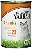 Yarrah Bio Katzennassfutter Huhn mit Nessel und Tomate, 405 g