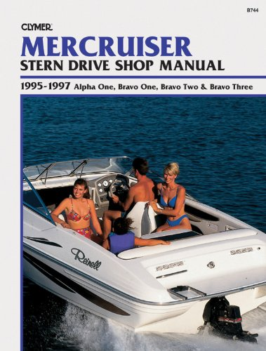 Mercruiser Stern Drive Shop Manual: 1995-1997 Alpha One, Bravo One, Bravo Two & Bravo Three (Alpha One Mercruiser Stern Drive)