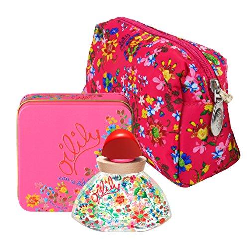 Preisvergleich Produktbild Oilily Eau de Parfum 50 ml + Cosmetic Bag Pink