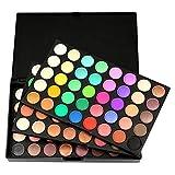 Manooby 120 Farben Lidschatten Matt Schimmer Glitzer Makeup Paletten Natürlich Kosmetik Eyeshadow Professional Box