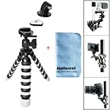 Fantaseal® Robust Octopus Mini Tripod Camera + GoPro Action Cam 2-in-1 Gorillapod Flexible Tripod Mount Outdoor Tripod Table Desk Tripod Travel Portable Tripod Stand w/ Quik Release Plate + Ball Head for Nikon Canon Pentax Sony Olympus Panasonics etc DSLR Camera / Camcorder + GoPro Hero5/4/3+/3/Session SONY HDR AS-10 15 20 30 50 100 200 AZ-1 FDR X1000VR Garmin Virb XE SJCAM SJ4000 SJ4000WIFI SJ5000 Xiaomi Yi Xiaomi Yi 4K DBPOWER QUMOX ICEFOX Akaso Apeman +etc Action Cam + Trail Camera