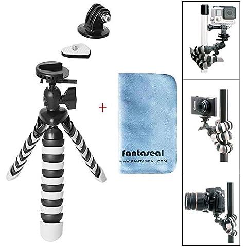 Fantaseal® Mini Treppiede Robusto Polpo per Fotocamera e Action Camera