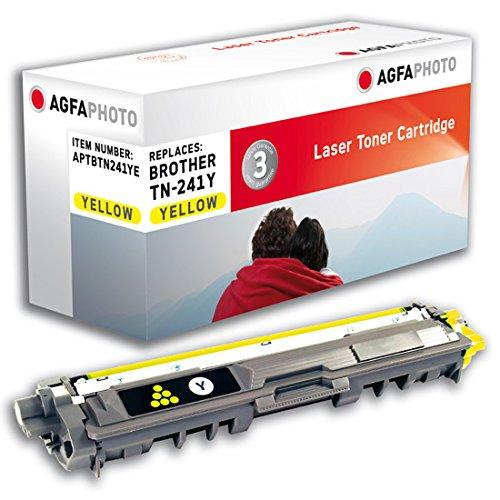 Preisvergleich Produktbild AgfaPhoto APTBTN241YE passend für Brother HL3140, 1400 Seiten, gelb