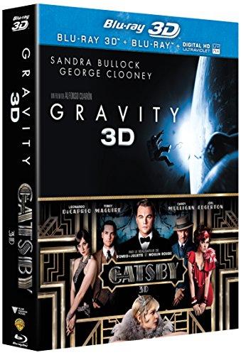 Gravity 3D + Gatsby le magnifique 3D [Blu-ray 3D]