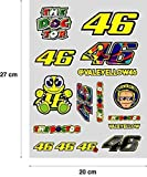 Aufkleber Aufkleber aufkleber Aufkleber decals autocollants Valentino Rossi Spezifikation ( 27 cm x 20 cm ) 16 Stücke REF1