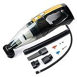 Aspirapolvere Portatile Con Cavo 4S Vacuum Cleaner, 100W - Motore Elettrico Cavo Lungo Con Cavo 5-M - Misurazione Della Pressione Con Illuminazione Gonfiabile