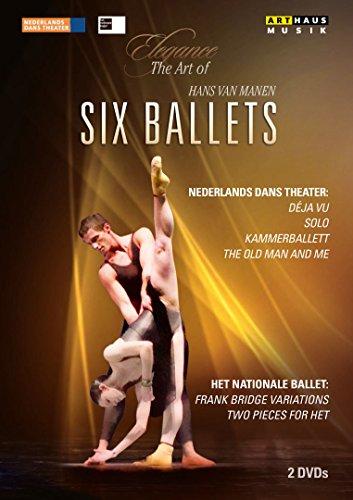 Preisvergleich Produktbild Elegance - The Art of Hans van Manen / Six Ballets [2 DVDs]