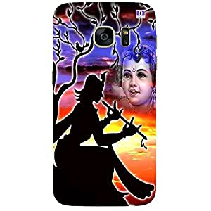Beautiful Krishna - Mobile Back Case Cover For Samsung Galaxy Note 7