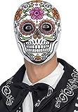 Smiffys Déguisement Homme, Masque de Señor squelette, 45218