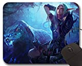 Sylvanas Windrunner Mousepad WOW - World of Warcraft Accessory ( L )