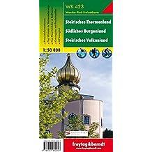 Steirisches Thermenland, Wanderkarte 1:50.000, WK 423, freytag & berndt Wander-Rad-Freizeitkarten
