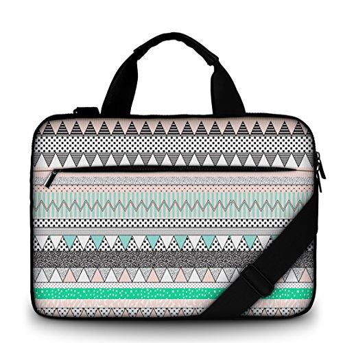 Sidorenko 17-17,3 Zoll Laptoptasche | Laptop Umhängetasche - Computer - Notebook-Schultertasche aus Canvas Schmutz- und Wasserabweisend | Notebook-Tasche mit Außentasche für Zubehör