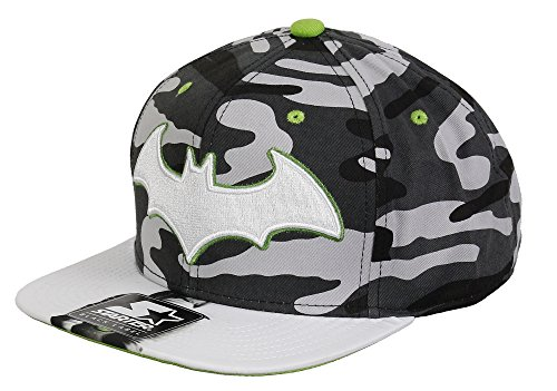 Riddler Hat (BATMAN - STARTER SNAPBACK - RIDDLER - GREY / WHITE /)