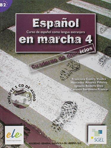 Espanol En Marcha 4 Exercises Book + CD B2