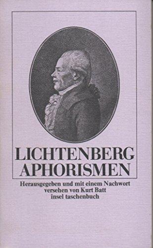 Lichtenberg Aphorismen