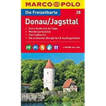 MARCO POLO Freizeitkarte Donau, Jagsttal 1:100.000
