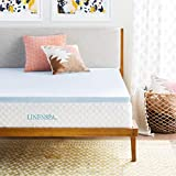 Best Full Size Mattress Toppers - Full : LINENSPA 2 Inch Gel Infused Memory Review