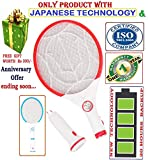 Tuscan Mannan Enterprises Electric Insect Killer, Mosquito Killing Racket, Mosquito Bat, Mosquito Swatter, Long Lasting, Heavy Duty (Mix Colors)