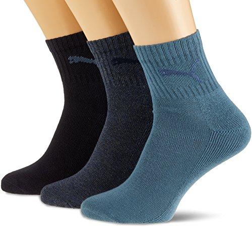 Schuhe Männer Puma 14 (PUMA Sportsocken Shorts Crew 3P, Denim Blue, 43-46, 231011001)