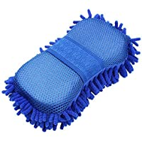 Hugo Microfiber Washer Towel Duster with Gloves (Multicolour)