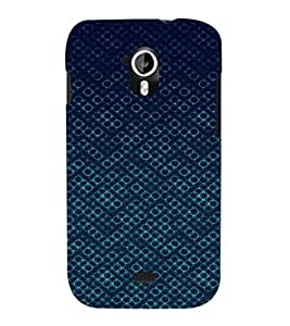 EPICCASE Blue Bubbles Mobile Back Case Cover For Micromax Canvas 2 A110 (Designer Case)