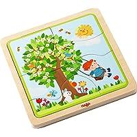 Haba 302529 Holzpuzzle Lieblingsjahreszeit