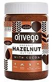 Orivego Biologico Certificato Burro di Nocciola spalmabile con Cacao, 450 g