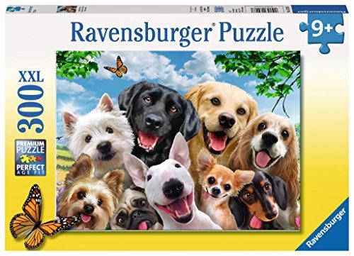 Ravensburger 13228hocherfreut Hunde 300Teile XXL - Jig Puzzle Saw Hund