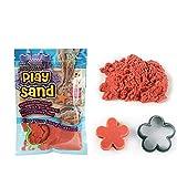 mxjeeio 100G DIY Kinder scherzt magische Bunte Sand-handgemachte Plastilin-Nicht giftige Spielwaren Raumfarbe Sand Kinetischer Sand, Bastelsand Spielsand Quarzsand für Sandkasten Dekosand