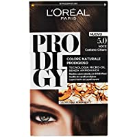 L'Oréal Paris Prodigy Colorazione Permanente, 5.0 Noce Castano Chiaro