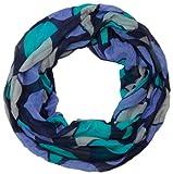 styleBREAKER leichter Sommer Loop im Retro Punkte Design 01014040 (Türkis-Blau)
