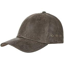 Gorra de Piel Liberty by Stetson gorra de beisbolgorra de piel (talla única - marrón)