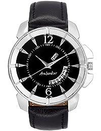 Armbandsur Analog Black dial day & date display Watch-ABS0022MBB