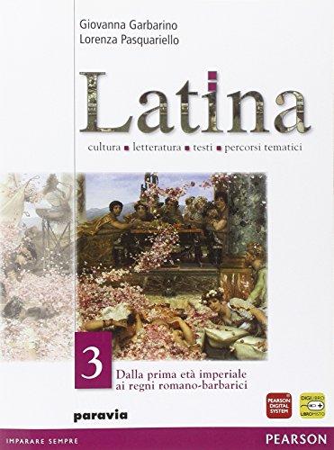 Latina. Per i Licei e gli Ist. magistrali. Con espansione online: 3