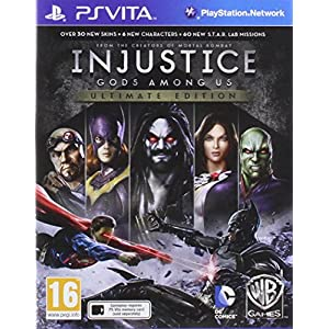 Injustice: Gods Among Us Ultimate Edition PS VITA UK (Vita)