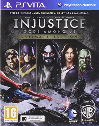 Injustice: Gods Among Us - Ultimate Edition [PS Vita] [PlayStation Vita] [Producto Importado]
