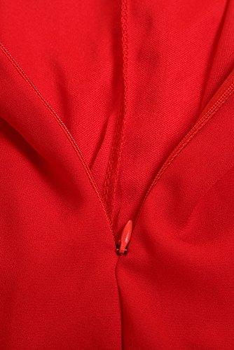 Cfanny - Combinaison - Femme Rouge