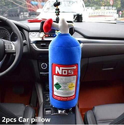 SONGYANG Nackenkissen Autositz Kopfstütze Auto Nackenkissen Kissen Nackenkissen intelligente Kopfstütze Turbo Nackensitz, 2pcs Autokissen Turbo Memory