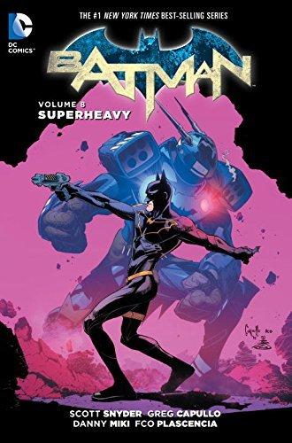 Batman Vol. 8 by Scott Snyder (March 22,2016)