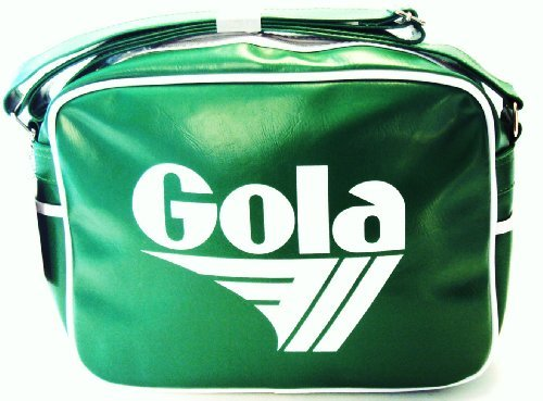 gola classic redford sports school bag in apple green/white