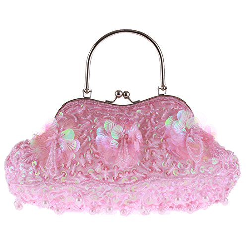 SSMK Evening Bag, Poschette giorno donna Hot Pink