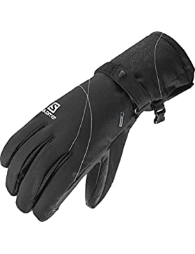 Salomon Propeller Dry W Guantes, Mujer, Azul, M