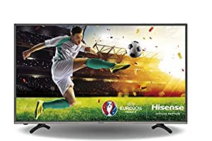 Hisense H43MEC3050 108 cm (43 Zoll) Fernseher (Ultra HD, Triple Tuner, Smart TV) schwarz