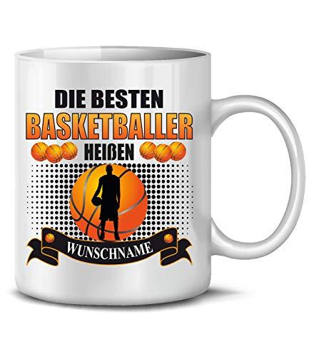 Golebros Basketballer Wunschname Fan Tasse Becher Kaffee Artikel Männer Geburtags Geschenk Verein Korb Netz Outdoor Outfit Ball pumpe Mug Pott
