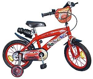 "Pik&Roll Toims Cars Vélo Enfant 14"" - 3/5 ans"